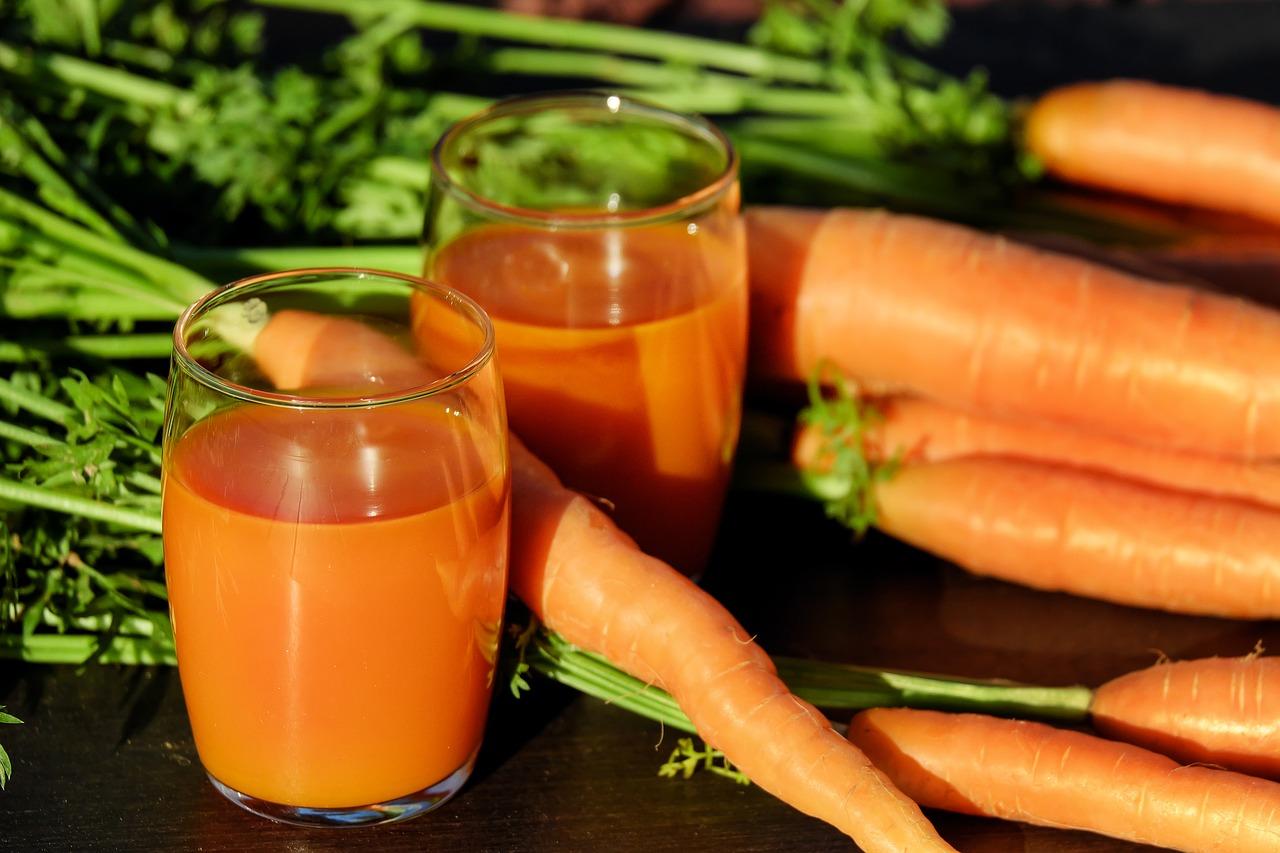 Jus de carotte - jeûnes